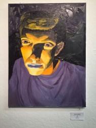 painting, portrait, male, color, oil
