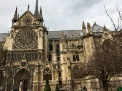 Notre Dame sideview