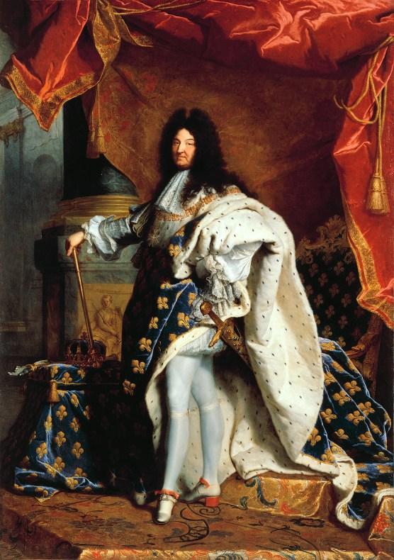Painting of King Louis XIV