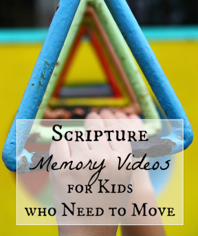 Scripture Memory Videos for Kids