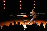 Aziz Ansari Kicks Ass Onstage