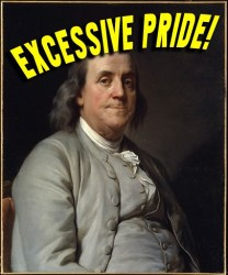 I have a love-hate relationship with Benjamin Franklin the same as I do with Elvis Presley_Where Excuses Go to Die