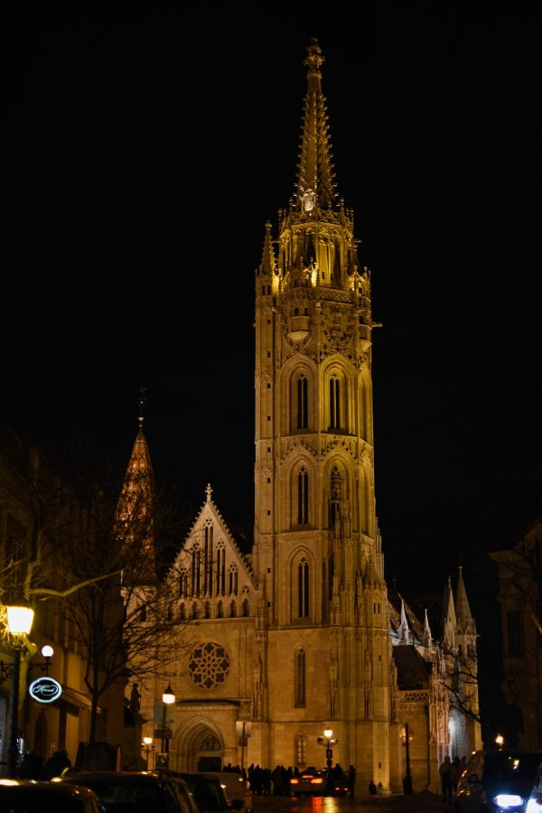 See Matthias Church lit up at night and all its glory