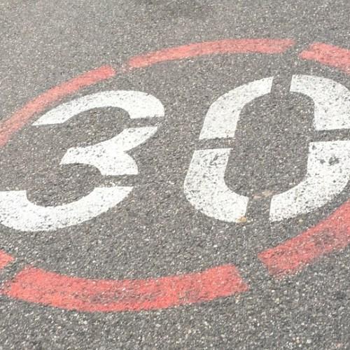 30 Zone Thirty 30s Road 30s Zone Skin-pass Zone
