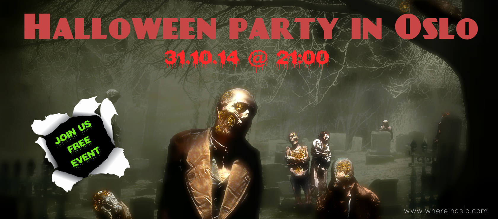Halloween party in Oslo - Where in Oslo