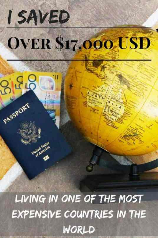 I SAVED Over $17,000 USD Living in One of the Most Expensive Countries in the World