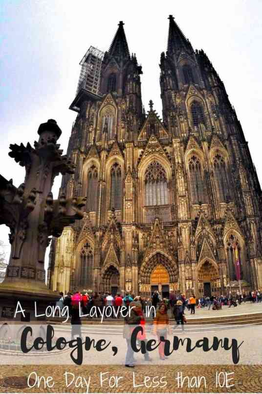 A Long Layover in Cologne, Germany - One Day For Less than 10€ 1