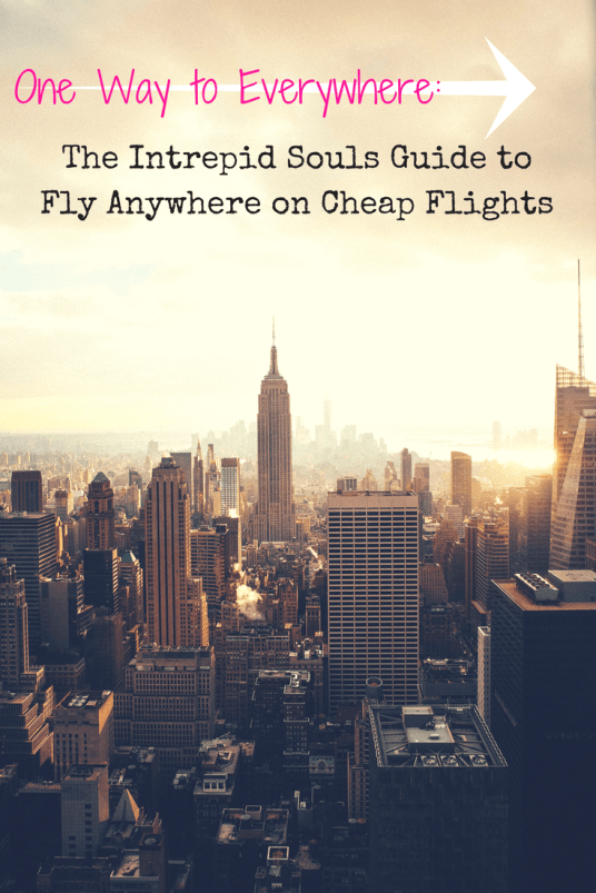 guide to fly anywhere on cheap flights