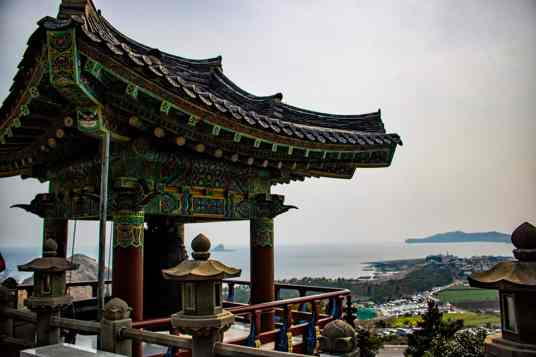 Sanbangsan Things To Do In Jeju road trip