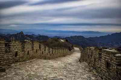 Great Wall of China without crowds or tours