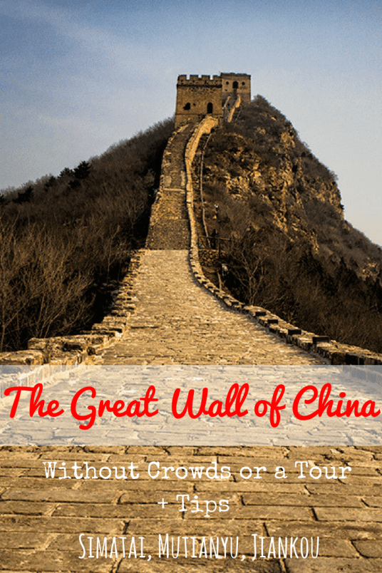 The Great Wall of China Without Crowds or a Tour + Tips-min 3
