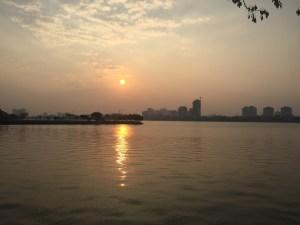 Sunset in Hanoi