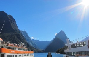 One of the most beautiful places is the famous Milford Sound.