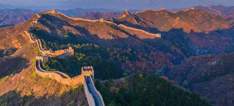 ჩინეთის დიდი კედელი, 360° პანორამა.