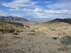 Leaving the Colorado desert