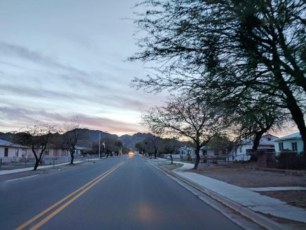 Ajo, the last town before the park