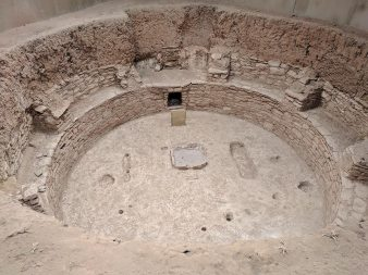 Mesa Verde national park, a kiva, the space natives use for ceremonies