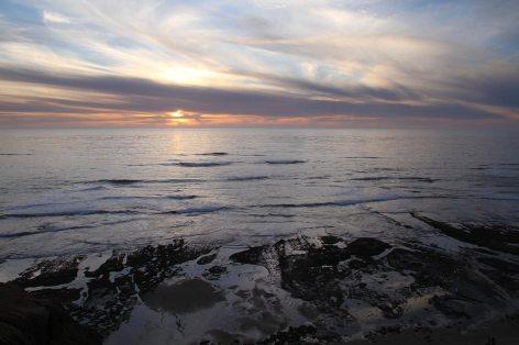 Sunset at Sunset Cliffs park