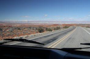In Navajo lands
