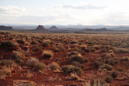 View on Monument Valley