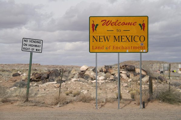 New Mexico! Looks like a dump to me here!
