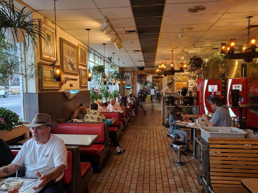 Frontier restaurant on road 66