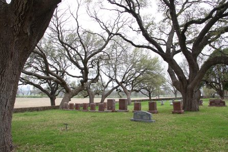 His and his family's graves