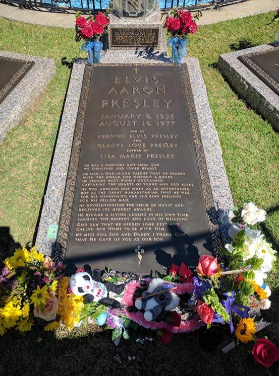 Elvis's grave