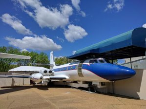 The Falcon jet