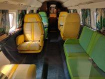 Inside the Falcon jet