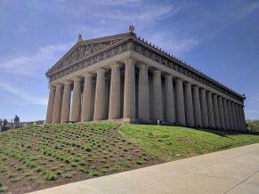 The Parthenon, a full size replica