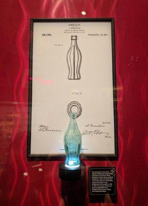 The original bottle design