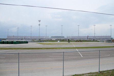 The NASCAR race track