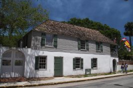 The oldest house built in the early 1700s