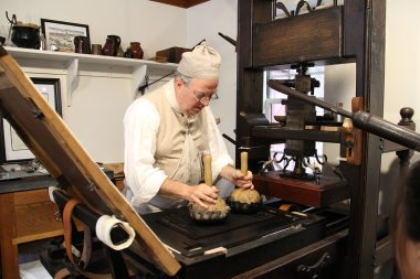 Reprinting the Declaration of Independence