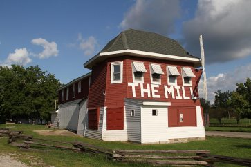 The Mill, used to be a sandwich shop, now a museum