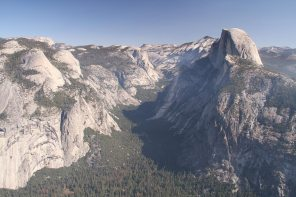 Half dome on the right