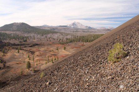 View on Lassen peak