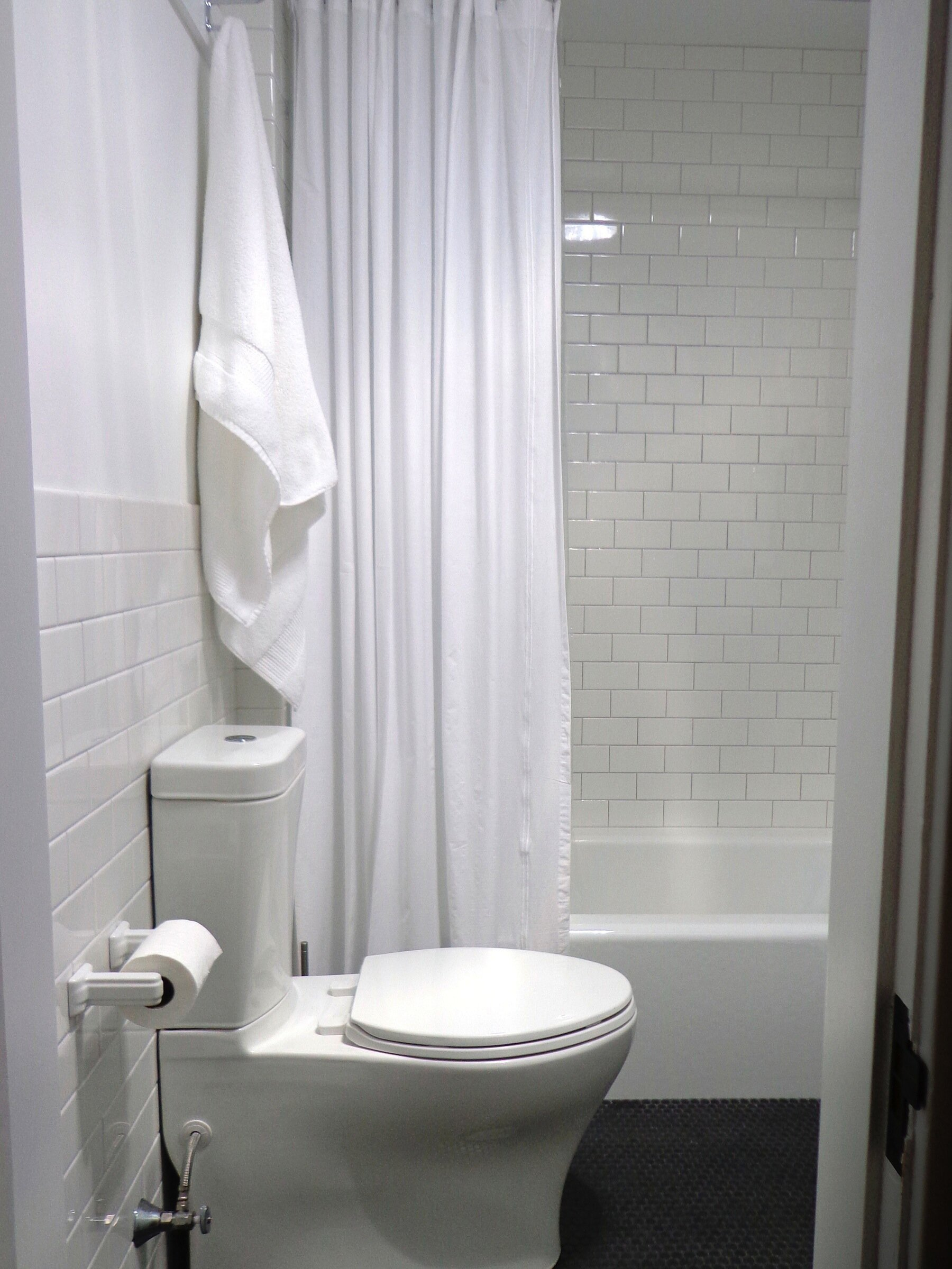 Curtain Interesting Bathroom Decor Ideas With Restoration Hardware Shower Curtain