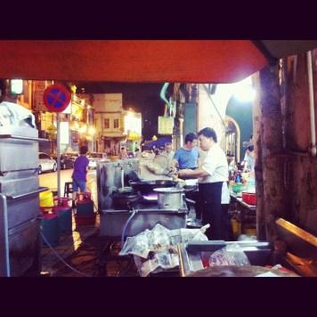 kuchnia chińskiej restauracji