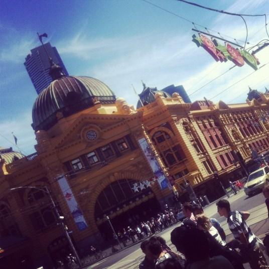 stacja w Melbourne