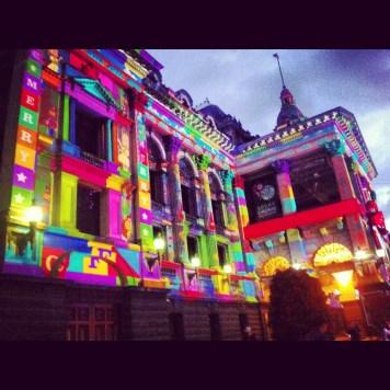 Melbourne i dekoracje świąteczne