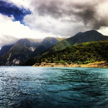 w drodze na Milford Sound. Nowa Zelandia pełną gębą.