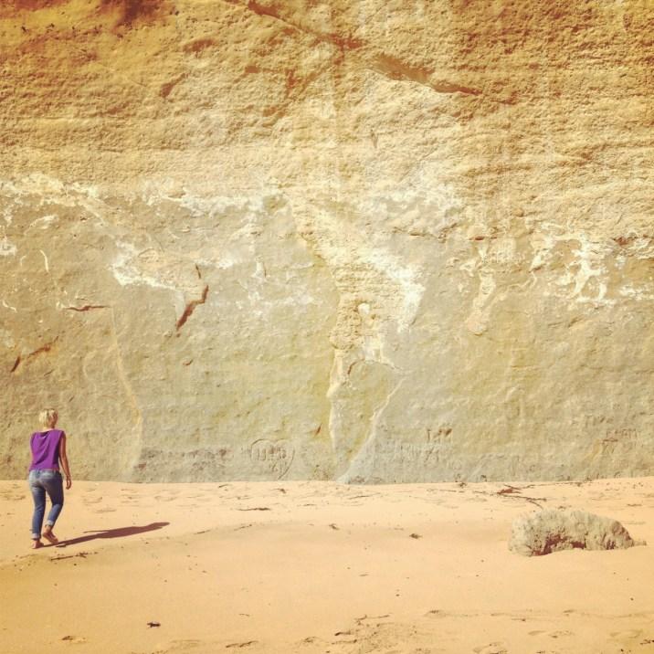 duża ściana, mała Julcia
