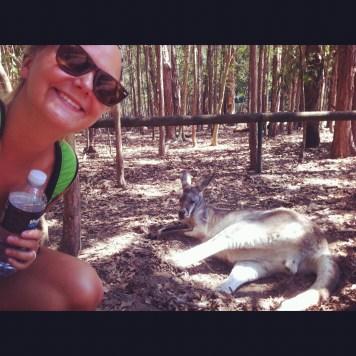 Jui z kangurem