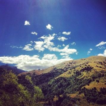 cudne góry i chmury