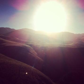 góry, słońce, bajka