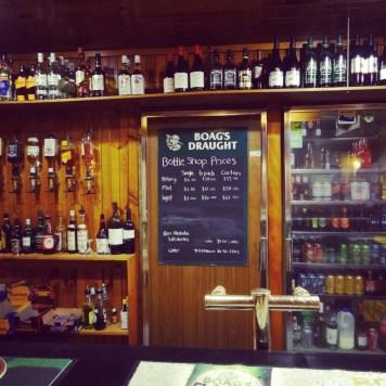 tasmański bar pełną gębą