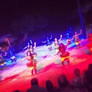 polinezyjski taniec