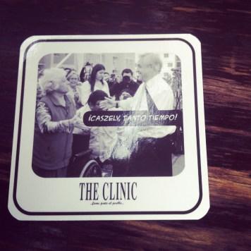 The clinic, politycznie